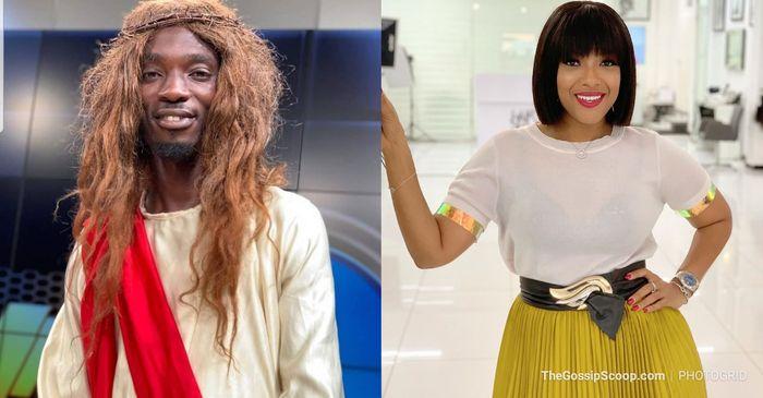 Joselyn Dumas Blasts Ghana Jesus, Mmebusem Over His Blasphemous Comedy Skit