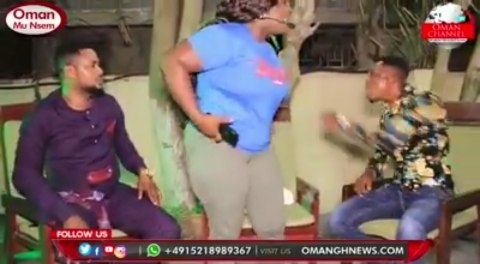 Two Ghanaian Pastors Called By Satan Literally Fight During A Live Interview