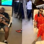 Polygamous Davido Leaves Chioma & Son In Nigeria; Chills With His Baby Mama, Sophia & Daughter Imade In Ghana