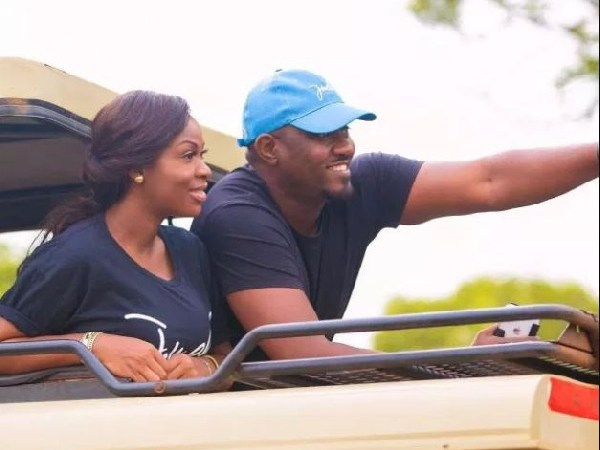 VIDEO: John Dumelo Emotionally Narrates How His Wife Delivered Their Son