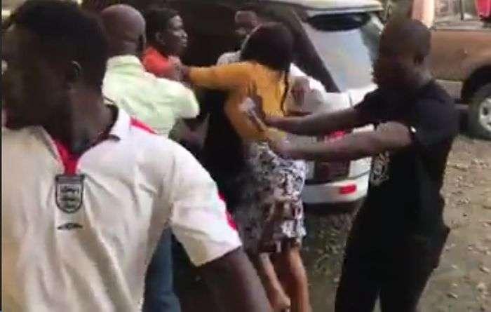 Scammed Customers Of Pastor Kelvin Kwesi Kobiri's Collapsed Business Grab & Assault Him