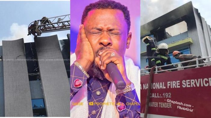 Prophet Nigel Gaisie Reveals Why GRA Boss Set The GRA Building On Fire