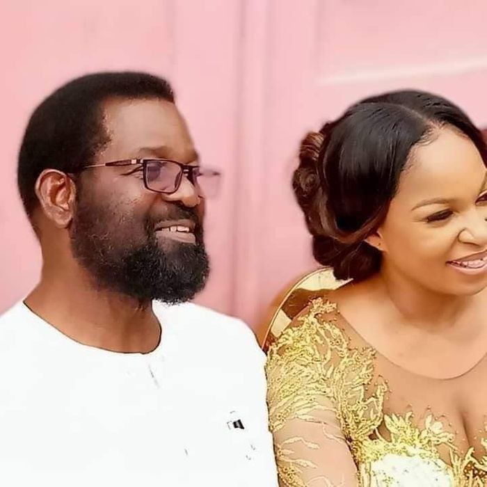 64-year-old Former Accra Mayor, Oko Vanderpuije Ties The Knot With His Pretty Girlfriend