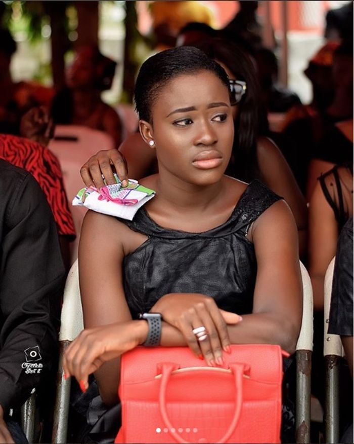 Fella Makafui Busted & Trolled Again For Copying Someone's Caption