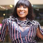 Gloria Sarfo Sparks Pregnancy Rumours With Her Protruded Belly On UTV