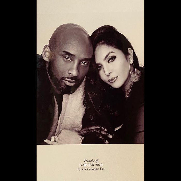 Sad As Kobe Bryant's Wife, Vanessa, Cannot Finish A Sentence Without Crying