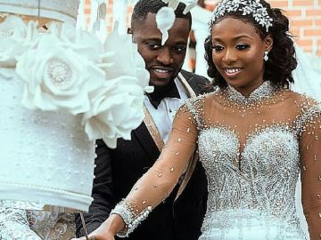 Check Out All The Classic Photos From Kennedy & Tracy's Lavish Wedding Ceremony
