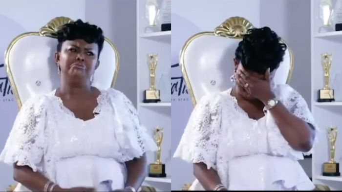 Nana Ama McBrown Cries On TV After Revealing How Her Baby, Maxin, Was Miraculously Delivered
