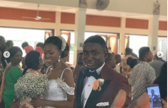 Check Out Photos From Noble Nketsiah's Wedding Which Ghanaians Refused To Talk About Because Of Ken & Tracy's Lavish Wedding