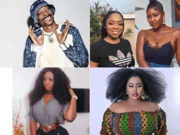 American Rapper, Snoop Dogg, Shades Moesha Buduong, Salma Mumin & All Clients Of Dr Obengfo