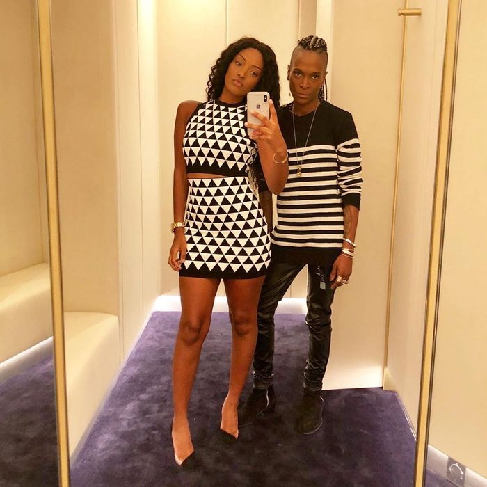 Dede Ayew's Slay Queen Wife, Yvonne, Causes Stir On Instagram With A Photo Of Her Male Bestie