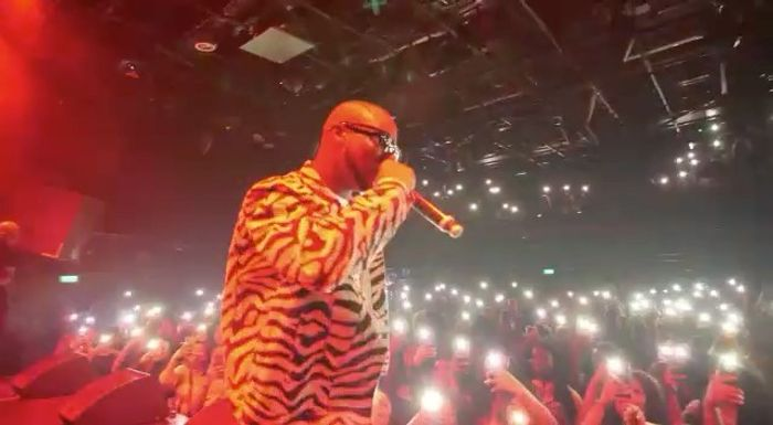 King Promise Performs To Fans In The Netherlands In The Midst Of Coronavirus Outbreak