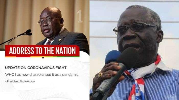 President Akufo-Addo & Senior Minister, Osafo Marfo Reportedly Test Positive For Coronavirus