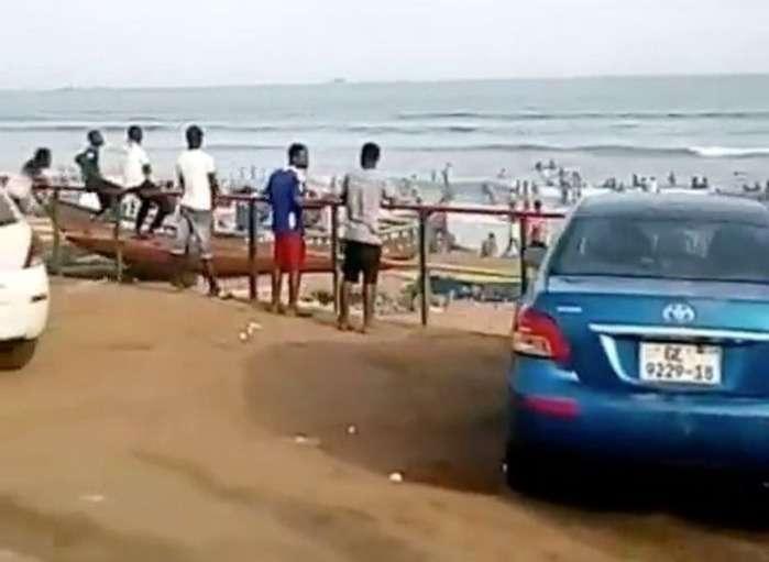 Massive Crowd Storm Tema Titanic Beach Amidst Coronavirus Outbreak In Ghana