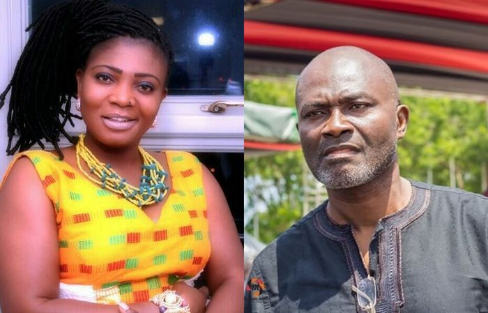 VIDEO: Kennedy Agyapong To Show Florence Obinim's G-string On Live Television