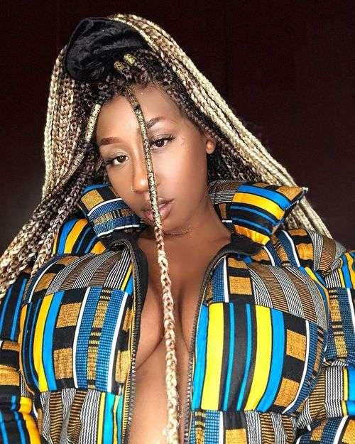 Kenyan Singer, Victoria Kimani, Shuts Down The Internet With Irresistible Photos Of Herself