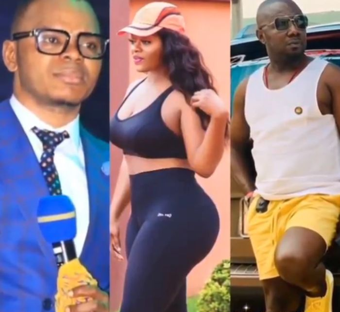 Nana Aba Anamoah's Baby Daddy, Osibo, Dumped His Wife After Obinim Bonked Her