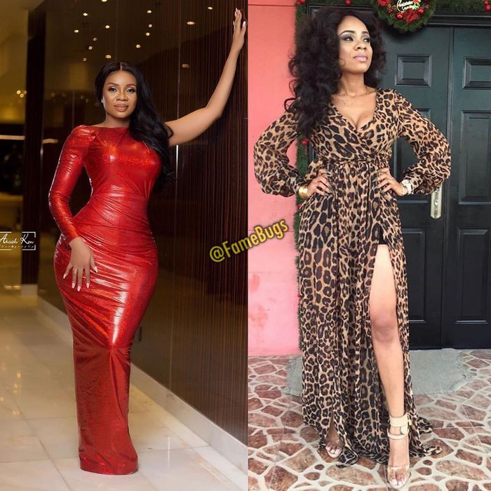 Instagram Folks Believe Serwaa Amihere's Curvy Shape And Big Butts Aren't Natural After Comparing Her Now And Then Photos