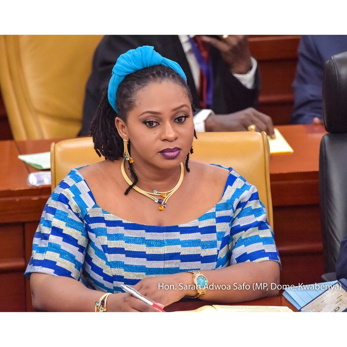 Assailants Nearly Killed Dome Kwabenya MP, Sarah Adwoa Safo