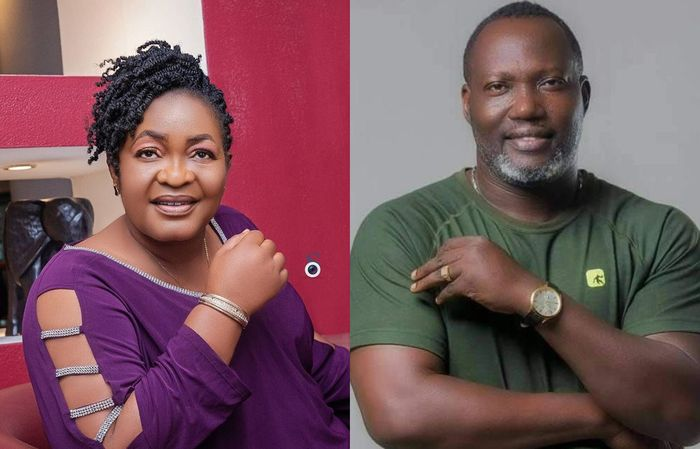 Actress Christiana Awuni Weeps Uncontrollably And Confirms The Death Of Actor Bernard Nyarko