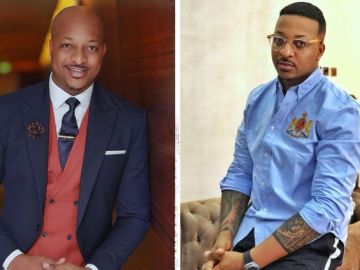 Nollywood Actor IK Ogbanna Miraculously Gets Some Hair On His Bald Head