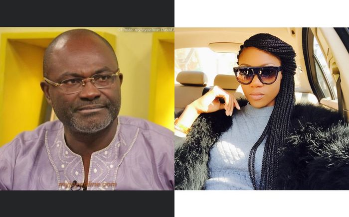 Kennedy Agyapong Labels Yvonne Nelson As Loud And 'All Over the Place' Woman