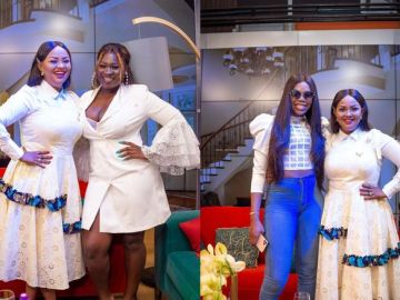 Emotional Sista Afia Swallows Her Pride And Apologizes To Freda Rhymz On Live Television