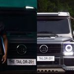 Elikem Kumordzie Might've Rented Or Borrowed The Mercedes G-Wagon Brabus He Flaunted On Instagram For A Photoshoot