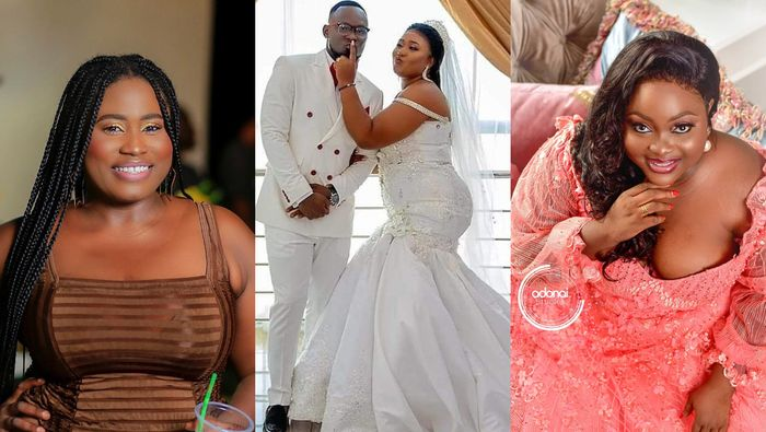 There's Still Hope For Plus-size Actresses Lydia Forson, Roselyn Ngissah And Others As One Of Their Own, Xandy Kamel Has Gotten Married