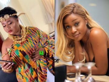 Whiles Xandy Kamel Was Getting Married, Efia Odo Was Also Getting A New Tattoo