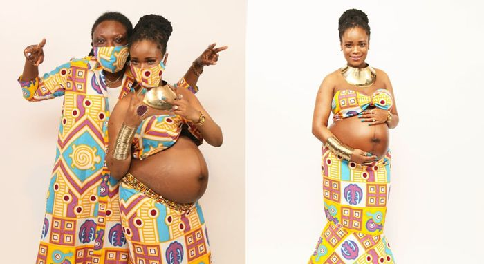 Popular Ghanaian UK-based Lesbian, DeeLyn, Impregnates Her Partner And Expecting Their First Child