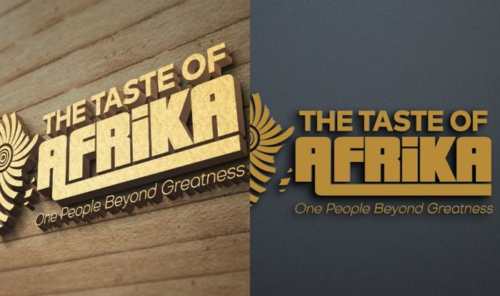 The Taste Of Afrika Outdoors New Logo As Part Of Its Branding Process