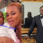 Akua GMB Flaunts Her Adorable Daughter With Dr Kwaku Oteng Whom Afia Schwar Claimed Is Trigmatic's Daughter