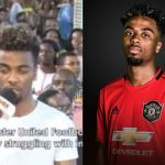 Manchester United's Angel Gomez Visits Prophet TB Joshua's Church For Deliverance