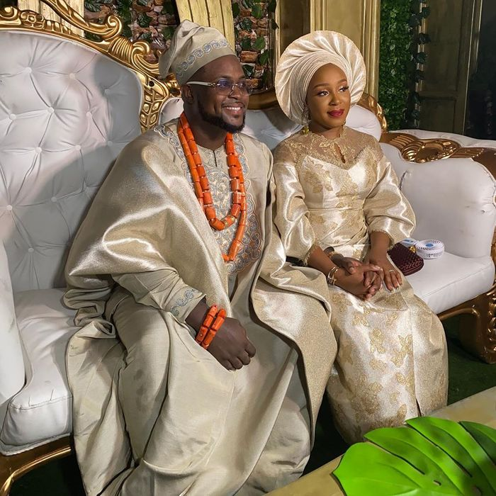Davido's Brother, Adewale's Wife, Kani, Reacts To Reports That Their Marriage Is In Chaos