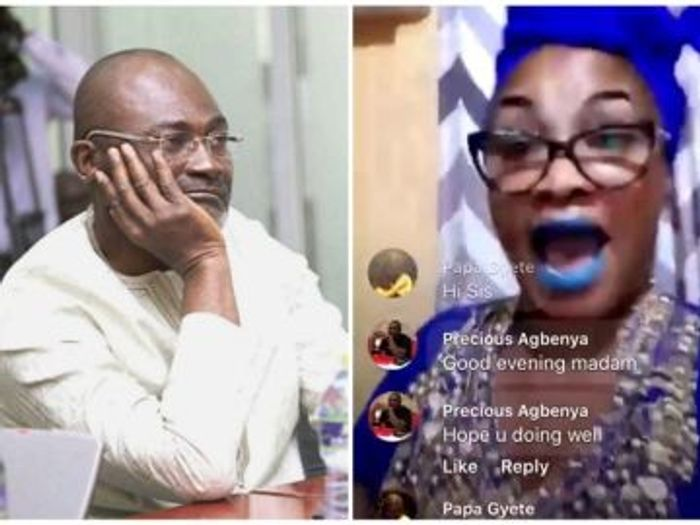 Kennedy Agyapong's Drug Addict Baby Mama Claims He Kidnapped, Rape And Impregnated Her