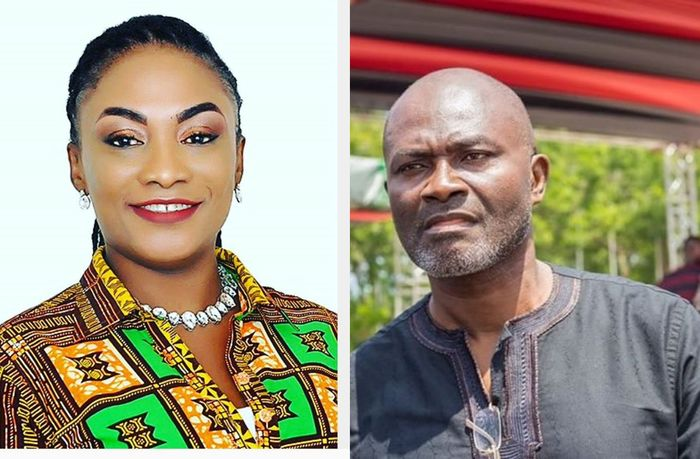Kennedy Agyapong's Baby Mama Goes Haywire Again And Claims That He Introduced Her To Wee At Age 21