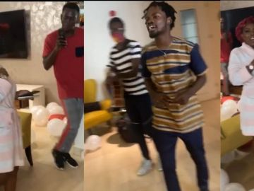 VIDEO: Nana Aba Anamoah Is 42 Years Old Today - Check Out Fameye's Big Birthday Gift To Her
