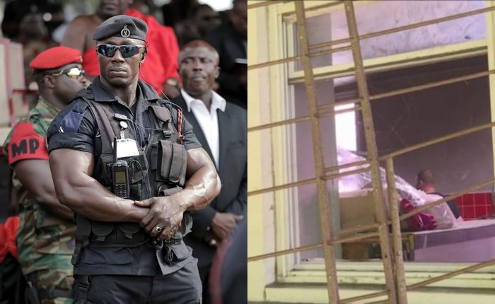 Fearless Thieves Break Into Nima Police Station; Steal Laptops, Printers, Television Sets And Others