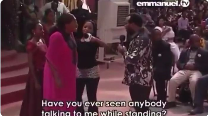 Drama In Prophet TB Joshua's Church As Satan Appears To Revenge For Scattering His Kingdom With Prayers