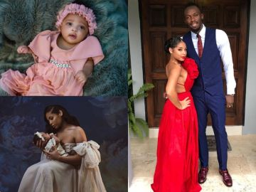 PHOTOS: Usain Bolt And 21-year-old Beautiful Girlfriend, Kasi Bennett, Welcome An Adorable Baby Girl