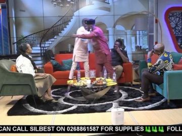 VIDEOS: Funny Face And Lilwin Make Peace After Their 'Scripted Misconduct' On UTV