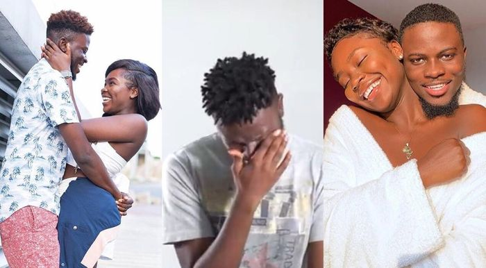VIDEO: Popular Ghanaian Couple, Kiki And Jay's 4-year-old Relationship Has Ended In Tears