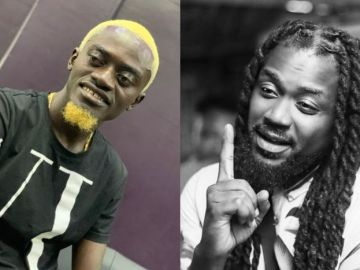 VIDEO: Lilwin Fools Himself That He's Battling With Samini On 3rd Position On The List Of Top 4 Dancehall Artistes In Ghana