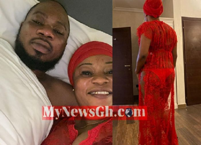 VIDEO: Popular Facebook Mallam, Naa Tia Salifu, Is Allegedly Bonking Married NDC Executive, Hajia Shamima