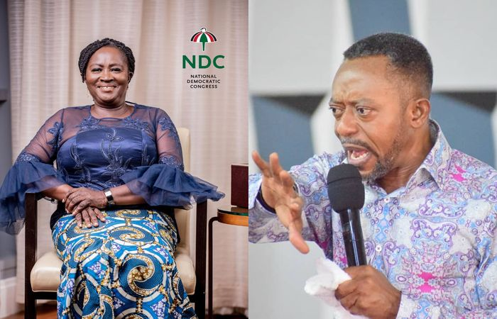 Reverend Owusu Bempah Claims John Mahama's Running Mate, Professor Jane Opoku-Agyemang, Will Die After 2020 Election