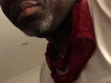A Supposed Photo Of Deputy Minister For Communications, George Andah, Wearing A Woman's Panties Around His Neck Has Gone Viral