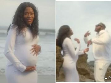 Medikal Features Heavily Pregnant Fella Makafui In New Music Video