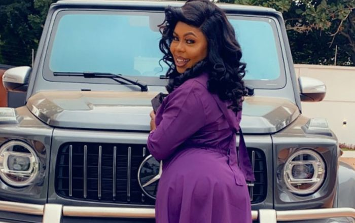 VIDEO: Afia Schwarzenegger Claims She Makes Ghc55,000 A Month