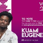 Kuami Eugene Makes It As VGMA 2020 Artiste Of The Year